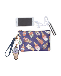 Ice Cream Pouch With Charger