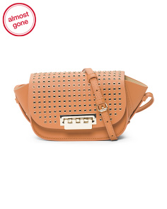 Eartha Micro Leather Crossbody