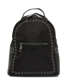 Ashlin Backpack With Rivet Trim