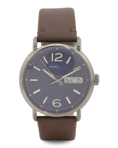 Men's Ferguson Leather Strap Watch