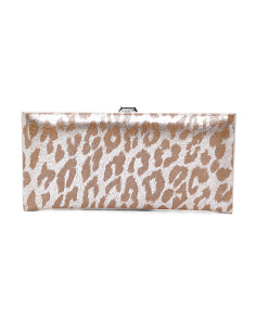 Sophia Andra Leather Clutch Wallet