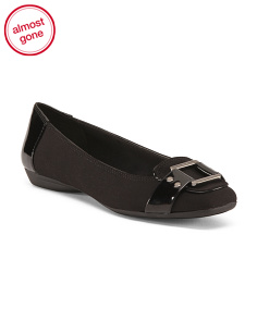 Flats With Buckle Keeper