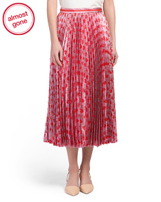 Made In Italy Pleated Skirt