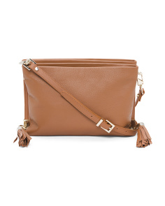 Colette Leather Crossbody