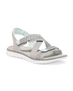 Sport Bottom Sandals With Velcro