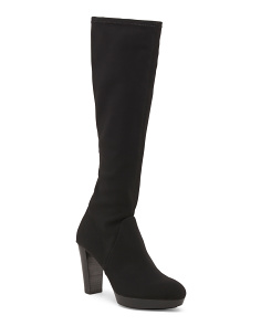 High Shaft Platform Boots