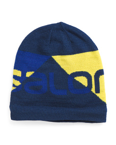 Graphic Wool Beanie