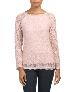 Made In Italy Lace Top