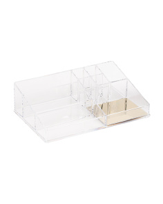 Large Pineapple Acrylic Makeup Storage