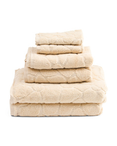 6pc Pebbles Towel Set