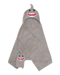 Kids Shark Towel And Mitt Set