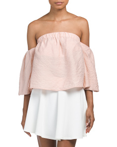 Juniors Off The Shoulder Top