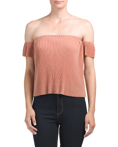 Juniors Off The Shoulder Bodre Cami