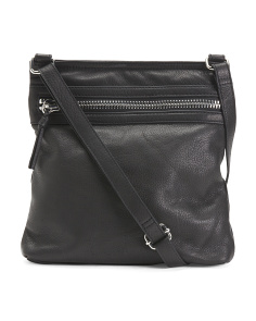 Lanie Leather Crossbody
