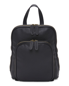 Alicia Small Leather Backpack