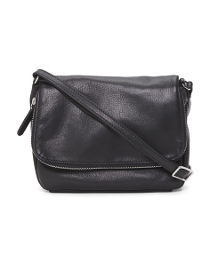 Preston Adjustable Leather Crossbody