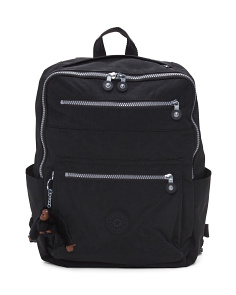 Caity Multi-zip Nylon Backpack