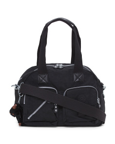 Defea Nylon Satchel