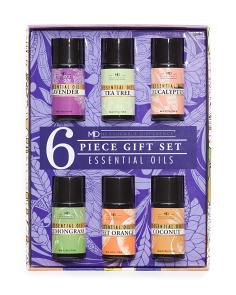 6pc Essential Oil Set
