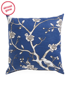 Made In USA 22x22 Vintage Blossom Pillow