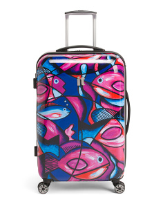 26in Printed Hardside Luggage