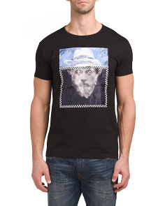 Bearded Statue 3D Graphic T Shirt