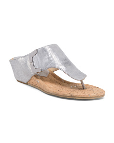Thong Wedge Slides