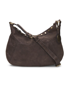Daria Leather Crossbody