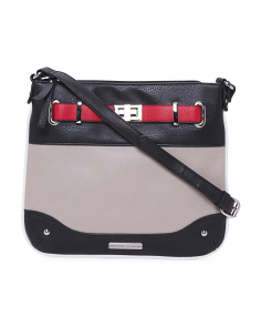 Multi Color Block Crossbody