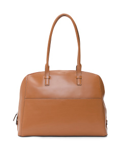 Buffy Brief Leather Satchel