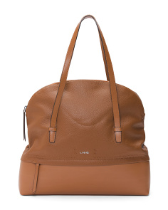 Kate Giselle Leather Work Tote