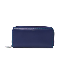 Audrey Ada Zip Leather Wallet