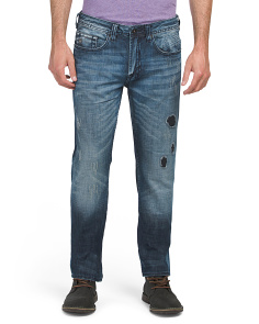 Rip & Repair Slim Denim Jeans