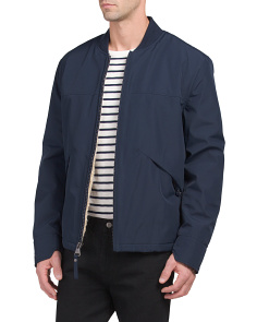 City Bomber With Sherpa Lining