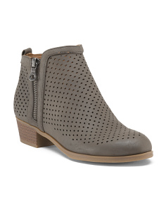 Low Perforated Booties