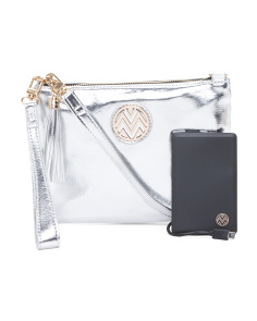 Clutch With Powerbank Crossbody
