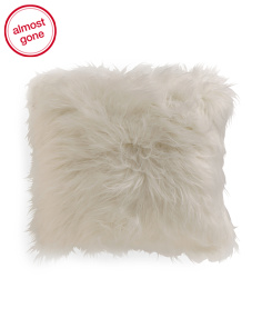Kids 16x16 Faux Fur Pillow