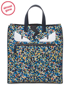 Made In Italy Print Monster Tote