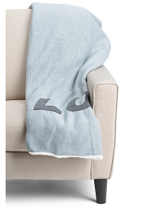 Love Applique Throw