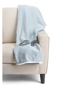 Snuggle Applique Throw