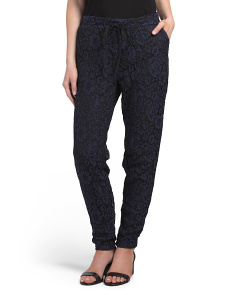 Juniors Lace Joggers