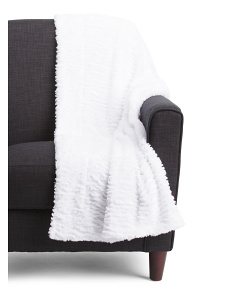 Colleen Ruffle Micromink Throw