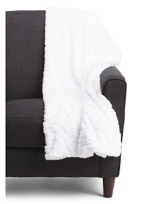 Ollie Faux Fur Throw
