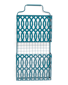 12x26 Metal Hanging Magazine Rack