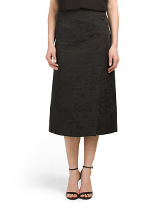 Made In Usa Anneal Jacquard Skirt