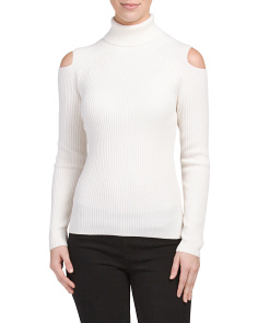 Jemliss Wool Blend Stretch Sweater