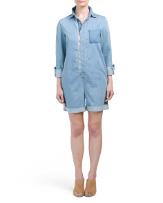 Made In Italy The Short Denim Jumpsuit