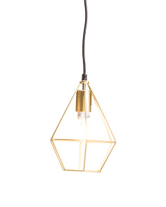 Sculptured Pendant Light