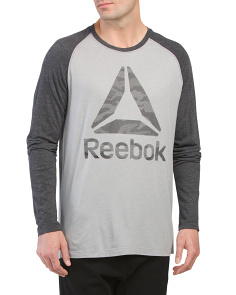 Long Sleeve Camo Brand Tee