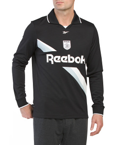 Long Sleeve Collared Training Top